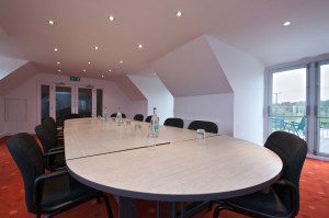 Cambridge IOSH venue conference room, bright training room