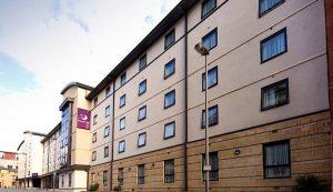 Liverpool premier inn IOSH course centre - external view of Liverpool hotel