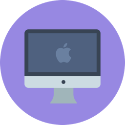 IOSH elearning courses - computer, mac with circle background